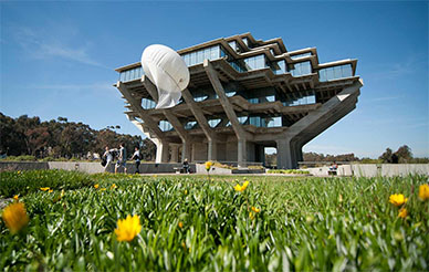 Geisel Library Photo by Erik Jepsen/UC San Diego Publications